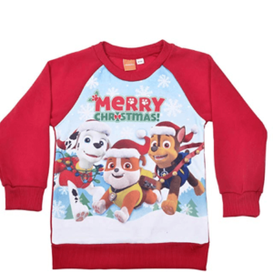 Paw Patrol Boys Official Christmas Jumper Childrens
