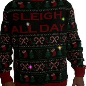 Christmas jumper with light and music