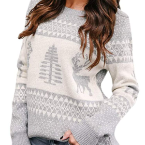 womens fairisle christmas jumper