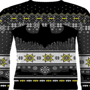 black christmas jumper mens