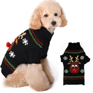 small dog christmas jumper
