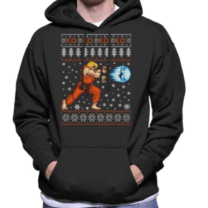 Street Fighter Christmas Jumpers