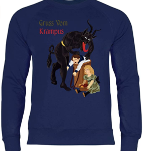 krampus christmas jumper