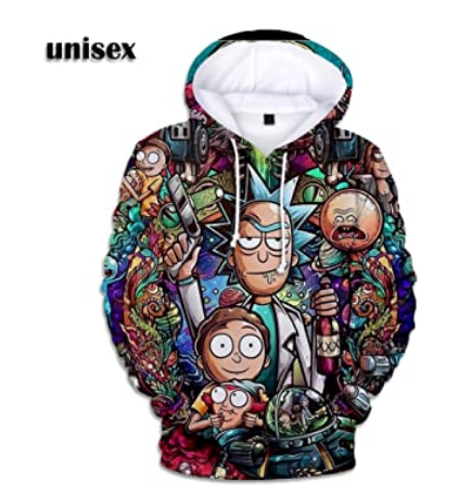 Rick and Morty Christmas Jumpers